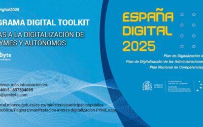 Ayudas económicas para la digitalización de las PYME y autónomos: Programa Digital Toolkit